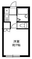 東京都町田市小川5丁目の賃貸アパートの間取り
