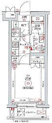 セジョリ横浜鶴見I[306号室]の間取り