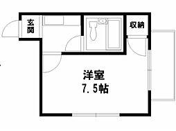 ビバ芦山寺[3階]の間取り