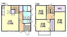 [一戸建] 岡山県倉敷市東塚4丁目 の賃貸【/】の間取り
