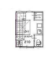 サークルハウス平和島壱番館[2階]の間取り