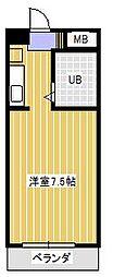 スカイパーク新松戸[2階]の間取り