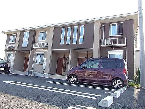 埼玉県比企郡川島町大字中山の賃貸アパートの外観