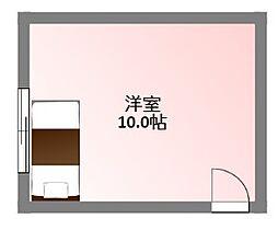 大阪府門真市常盤町の賃貸アパートの間取り