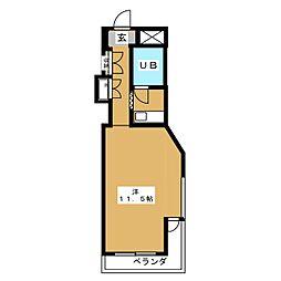 ウッディプラザ八事[3階]の間取り