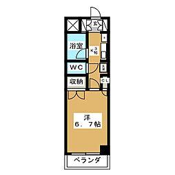 エトワール青森第1[3階]の間取り