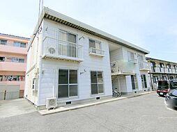 長野県長野市安茂里小市1丁目の賃貸アパートの外観