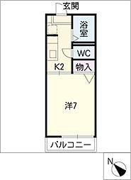アブリール[2階]の間取り