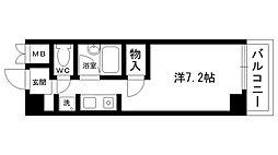 マンションNOTO[402号室]の間取り