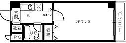 3C NEST OTORI[3階]の間取り