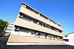 徳島県徳島市南田宮2丁目の賃貸アパートの外観