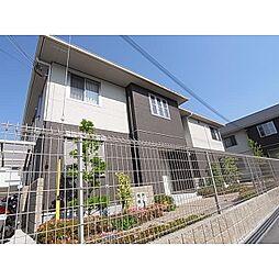 奈良県香芝市逢坂の賃貸アパートの外観