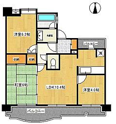 インシュランスビル9[9階]の間取り