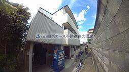 大阪府東大阪市喜里川町の賃貸マンションの外観