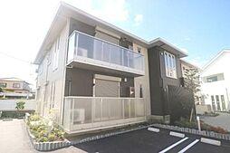 大阪府交野市藤が尾6丁目の賃貸アパートの外観