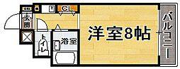 福岡県福岡市城南区神松寺2丁目の賃貸マンションの間取り