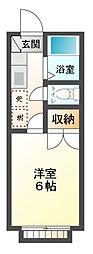 レモンシティ八幡[1階]の間取り