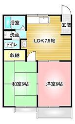 【敷金礼金0円!】リディア赤坂 B
