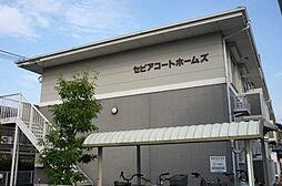 滋賀県大津市大江5丁目の賃貸アパートの外観