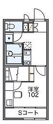 マロンハイツIII[2階]の間取り