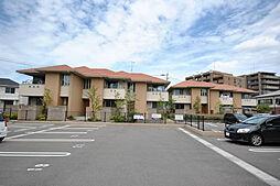福岡県福岡市南区的場1丁目の賃貸アパートの外観