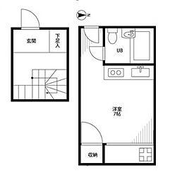 マ・シャンブル大野[2階]の間取り