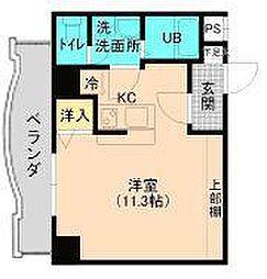 アップル第7マンション[507号室]の間取り