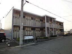 兵庫県明石市鳥羽の賃貸アパートの外観
