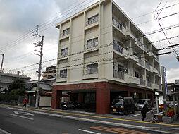 愛媛県松山市三杉町の賃貸マンションの外観