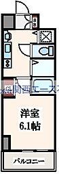 プレサンス大阪城公園パークプレイス[7階]の間取り