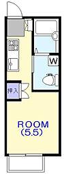 ストークハウス[105号室]の間取り
