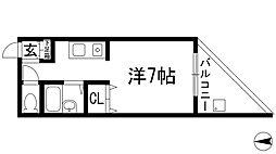 セブン[2階]の間取り