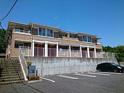 埼玉県東松山市大字大谷の賃貸アパートの外観