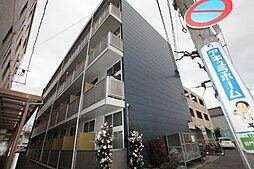 広島県福山市御門町3丁目の賃貸アパートの外観