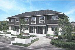 岡山県総社市総社3丁目の賃貸アパートの外観