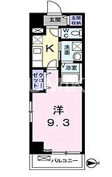 プラステ東島田[8階]の間取り