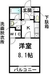 オリエンスII[1階]の間取り