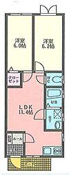 プレジデントマンション衣笠栄町[1階]の間取り