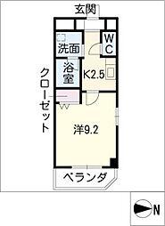 ノーブル コート[2階]の間取り
