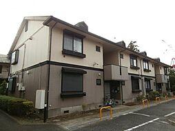 東京都三鷹市北野1の賃貸アパートの外観