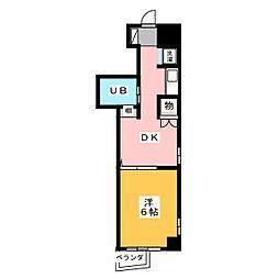PROXY SQUARE本郷[5階]の間取り