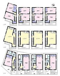 [一戸建] 東京都新宿区西落合2丁目 の賃貸【/】の間取り