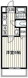 ソニアトーレ[206号室]の間取り