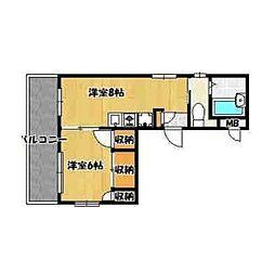 T・Sハイツ[4階]の間取り