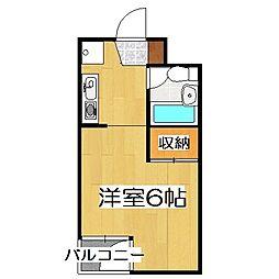 COMODO'94(コモド94)[203号室]の間取り