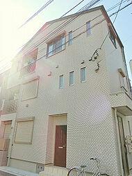 東京都品川区旗の台1丁目の賃貸アパートの外観