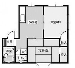 パストラルオガワ2[2階]の間取り