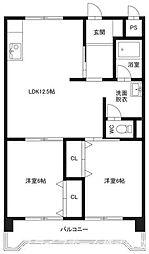 武田ビル[6階]の間取り