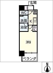 仮)押切2丁目マンション[8階]の間取り