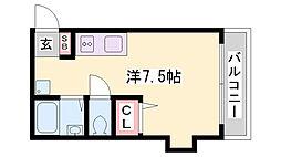 水笠ハイツ[3階]の間取り